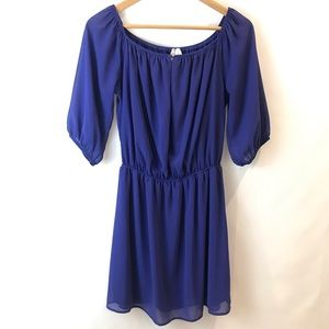 Alta Blue Party Dress (L)